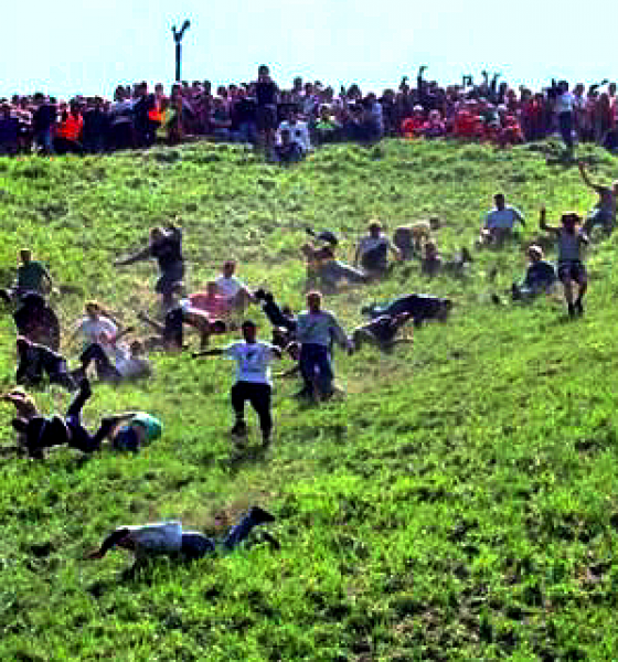 Cooper's Hill Cheese-Rolling, siete pronti?