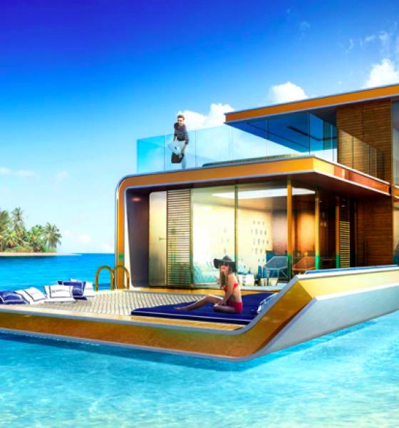 Ville galleggianti a Dubai, curiosità e follia