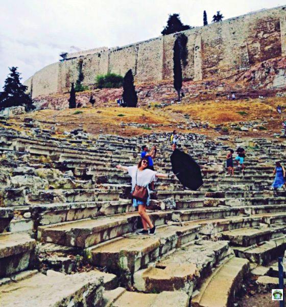 Atene… Sulla cima dell'Olimpo