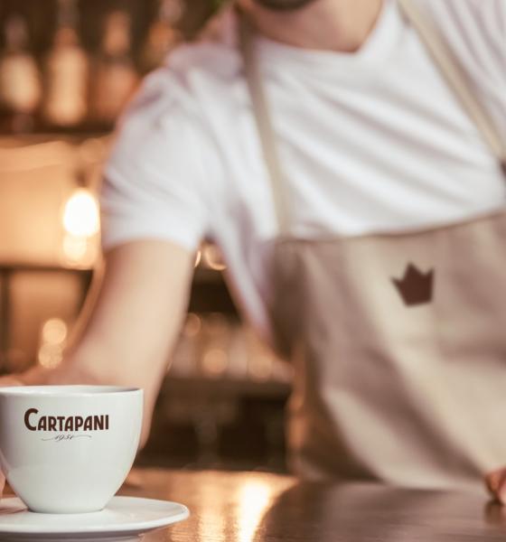 Caffè Cartapani la qualità tecnologicamente tostata.