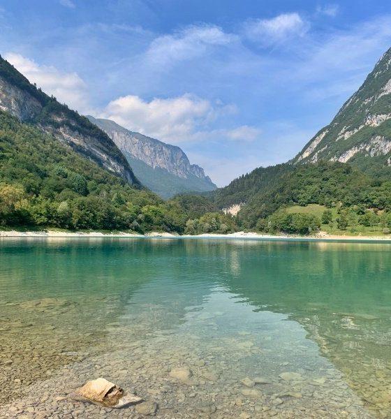 Lago di Tenno, una meraviglia del Trentino